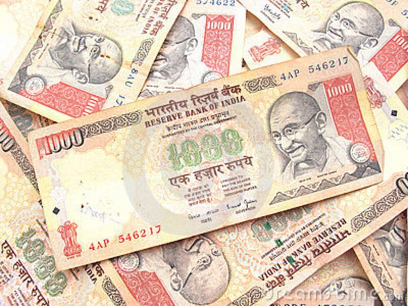 nota-indiana-da-rupia-da-moeda-mil-14137119