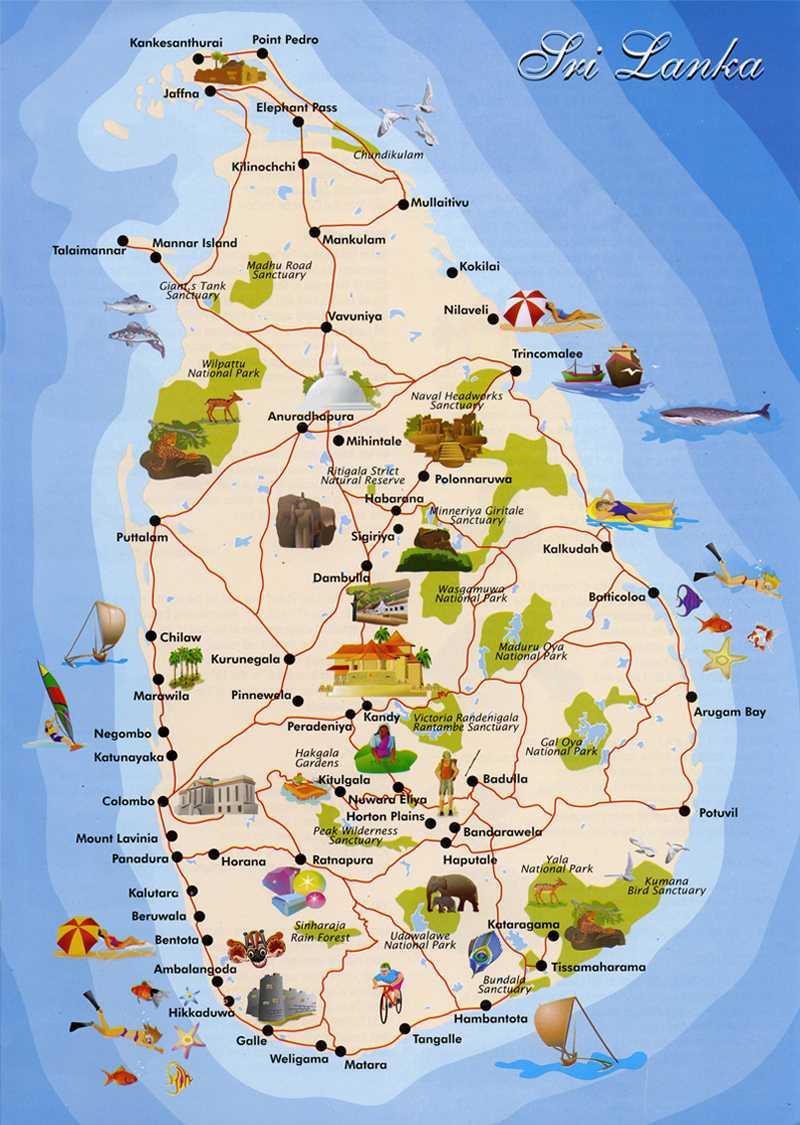 srilankan_map