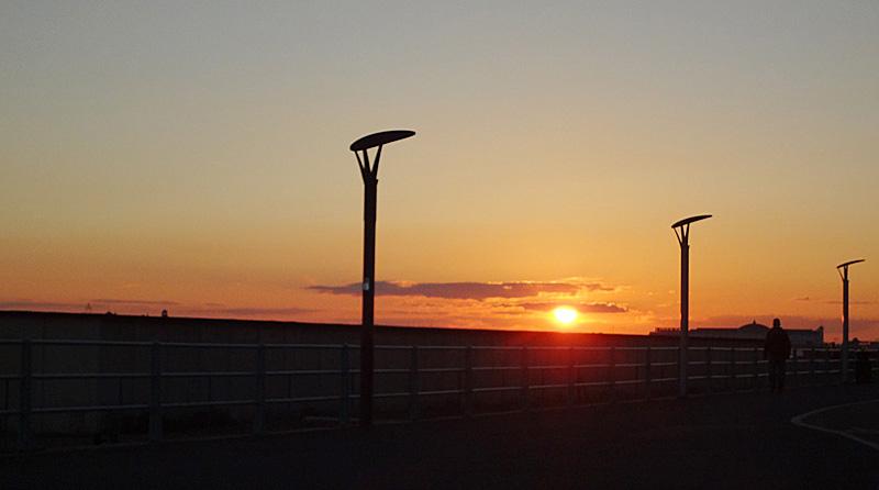 brighton-beach-sunset0